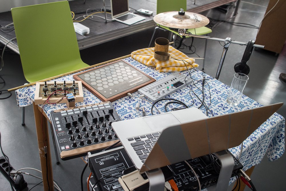 WaveSetter, Till's manta-based improvisation setup.